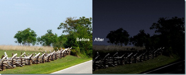 Sky-before-after