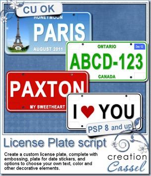 cass-LicensePlate