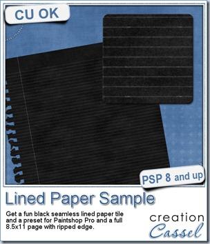 cass-LinedPaper-Sample