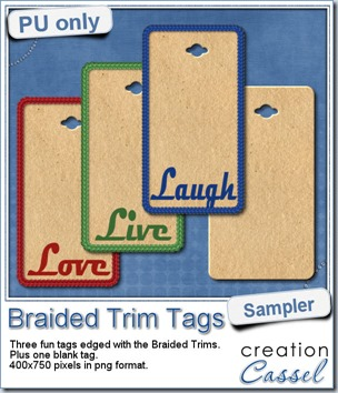 New tubes – Braided Trims