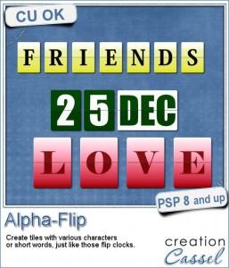 Alpha Flip script for Paintshop Pro