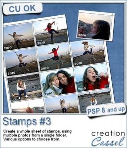 Stamps #3 script for Paintshop Pro
