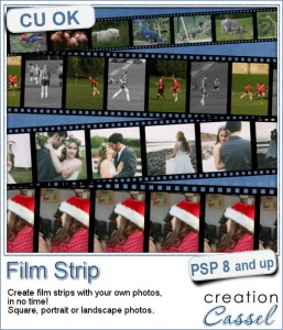 Film Strip script for Paintshop Pro