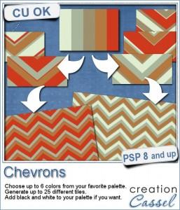Chevron pattern script to create seamless tiles