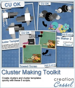 Cluster Making Toolkit scripts for Paintshop Pro
