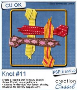 Knot script for Paintshop  Pro