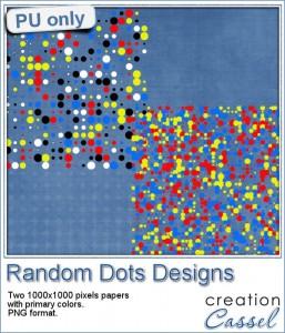Random Dot paper design