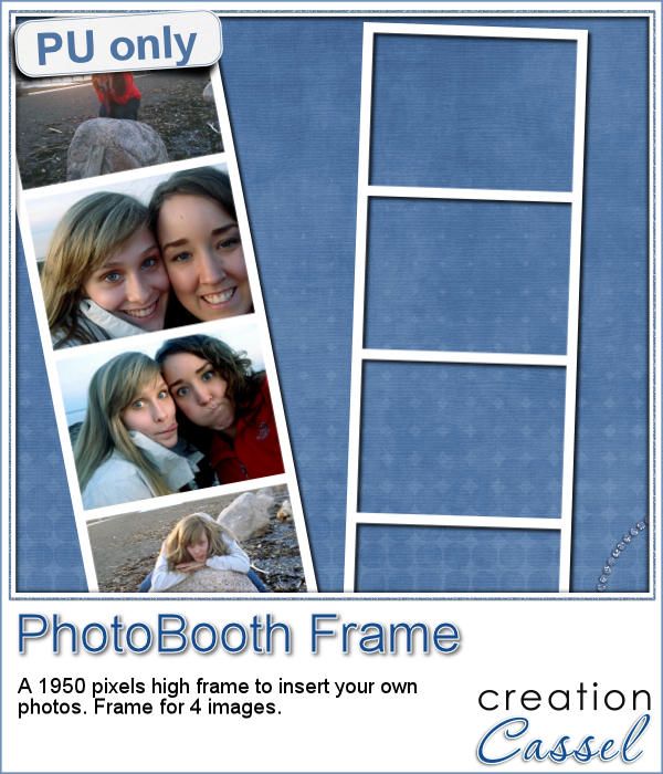 Photo booth frame in png format