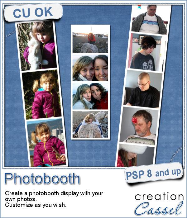 Photo booth script for Paintshop Pro
