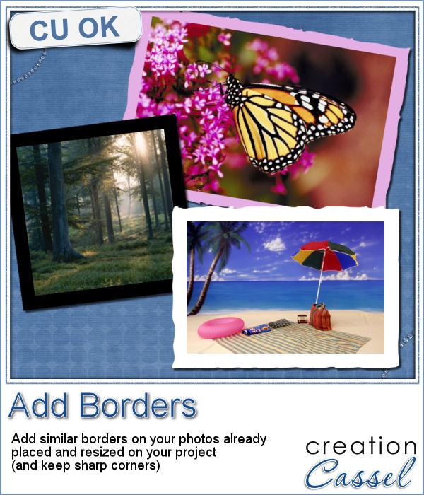 Add borders script for Paintshop Pro
