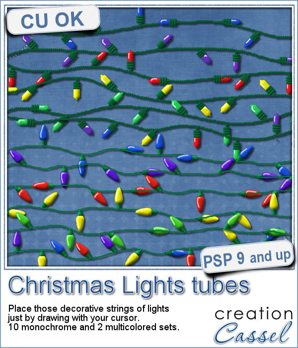 christmas light picture tubes for paintshop pro