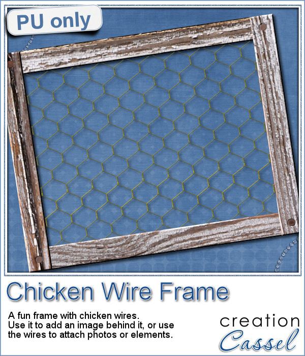 New tubes – Chicken Wire | Creation Cassel