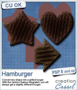 Hamburger script for Paintshop Pro