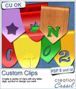 Custom clips script for Paintshop Pro