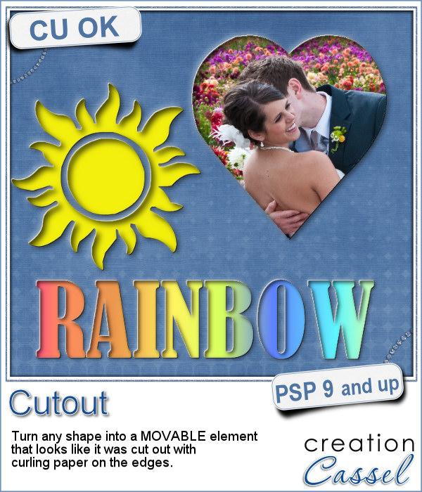 Cutout script for Paintshop Pro