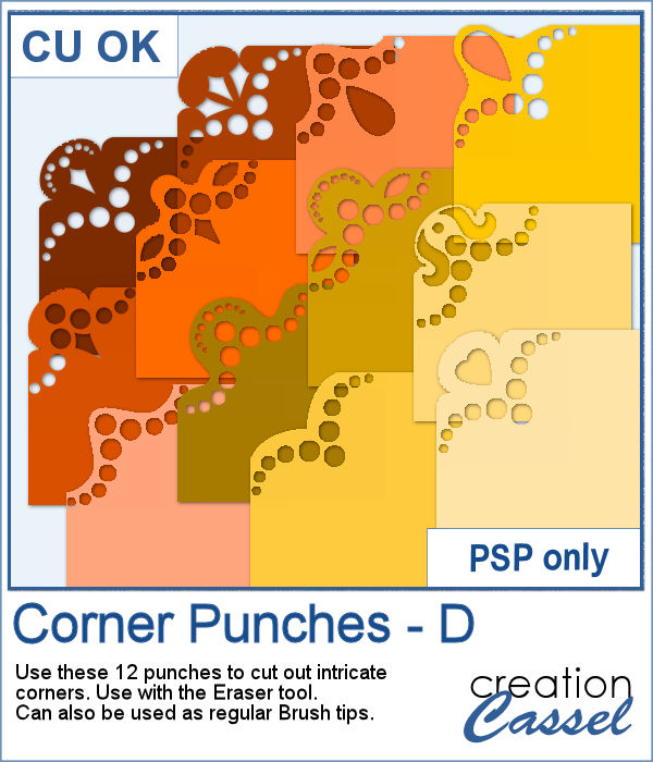 New Brushes – Corner Punches D