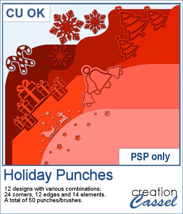 Holiday Brushes for Paintshop Pro
