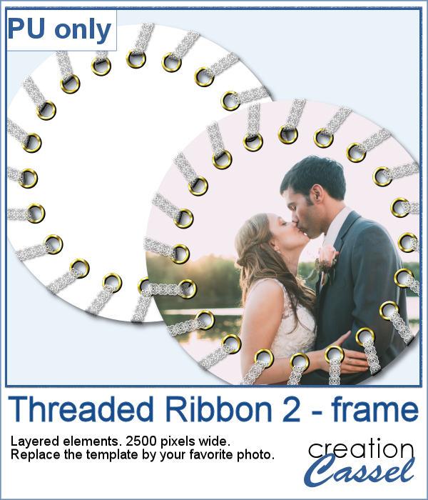 Threaded Ribbon frame