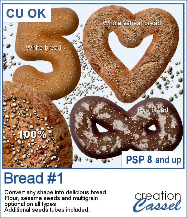 Script to make bread with Paintshop Pro