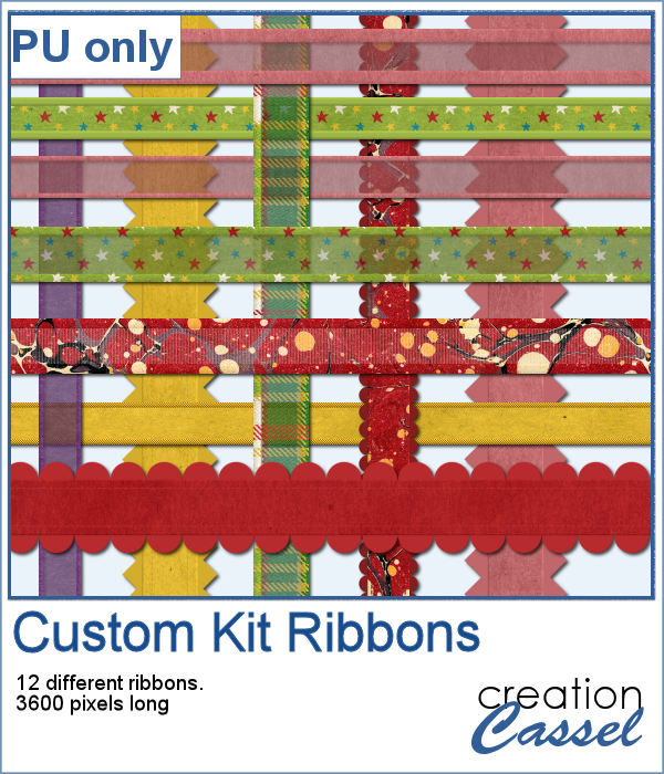 Ribbons in png format