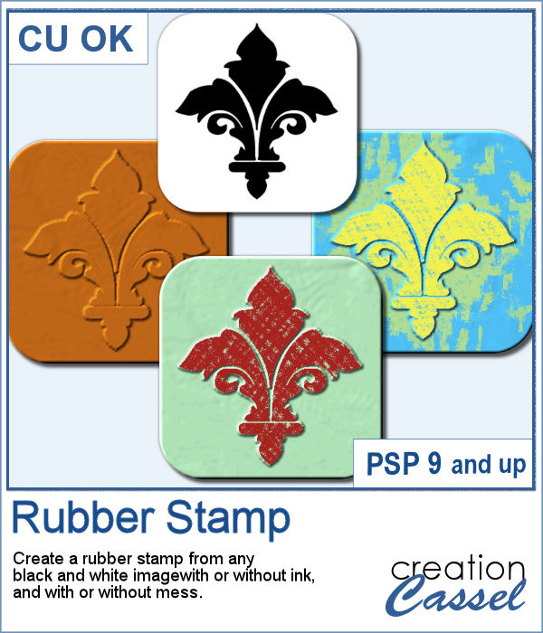 Rubber stamp script for Paintshop Pro