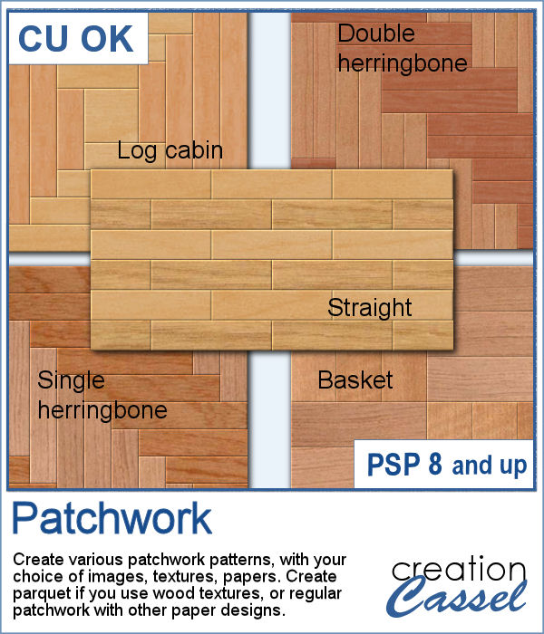 Patchwork script for Paintshop Pro