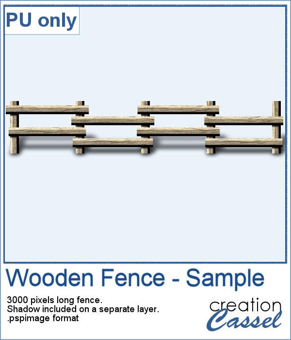 Wooden Fence Sampler