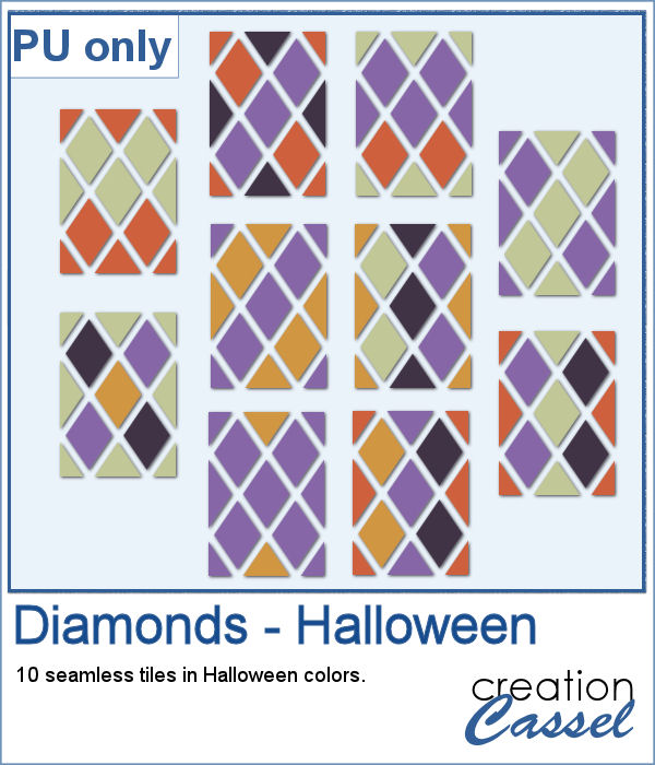 Diamond patterns in PNG format