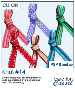 Knot #14 script for PaintShop Pro