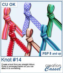 Knot #14 script for PaintShop Pro