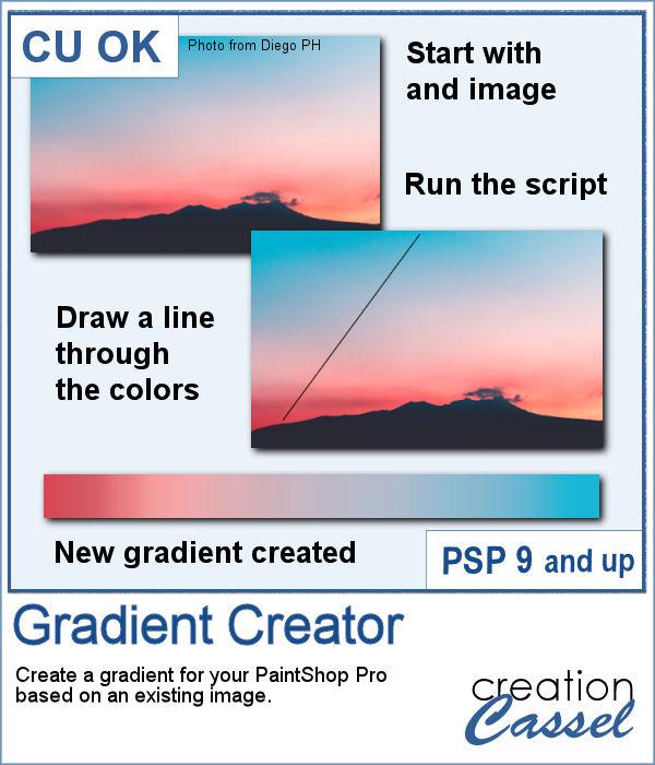Gradient creator for PaintShop Pro