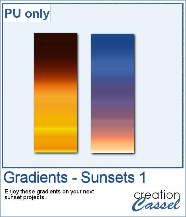Gradients for PaintShop Pro
