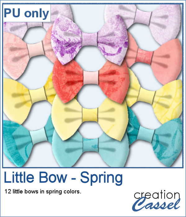 Sample of little bows in png format