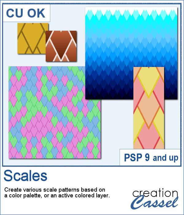 Sacle design script for PaintShop Pro