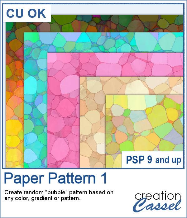 Paper Pattern 1 script for PaintShop Pro