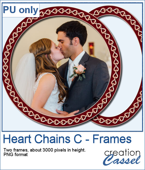 Heart Frame in PNG format