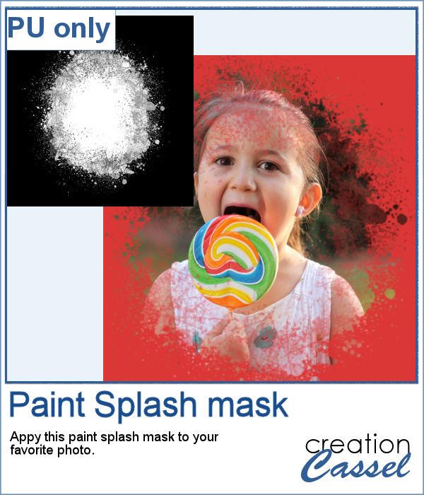 Paint Splash mask