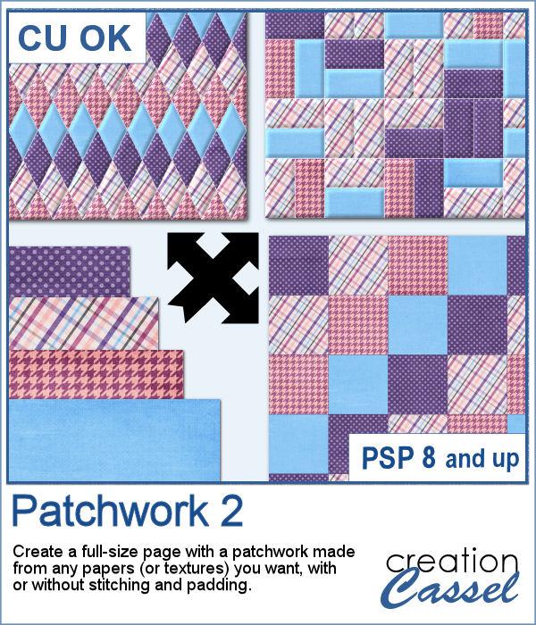 Patchwork script for PaintShop Pro