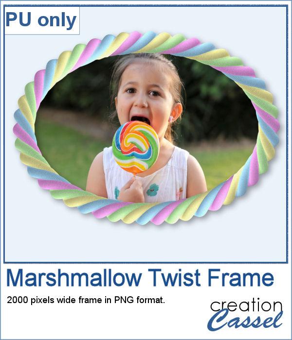 Marshmallow Twist frame
