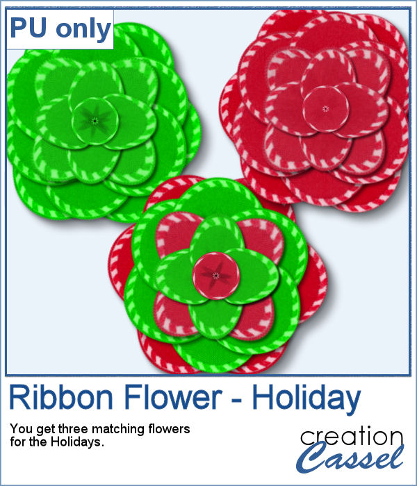 Ribbon Flower in png format