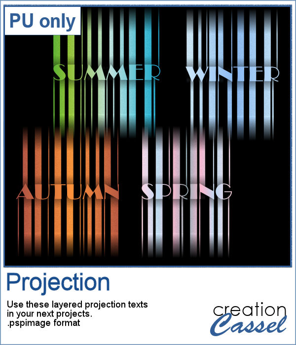 Projection lights in png format