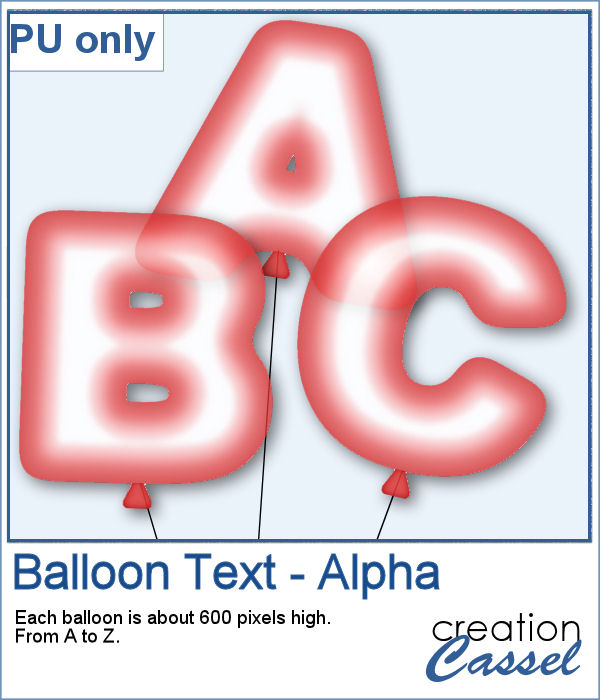 Balloon Alpha in png format