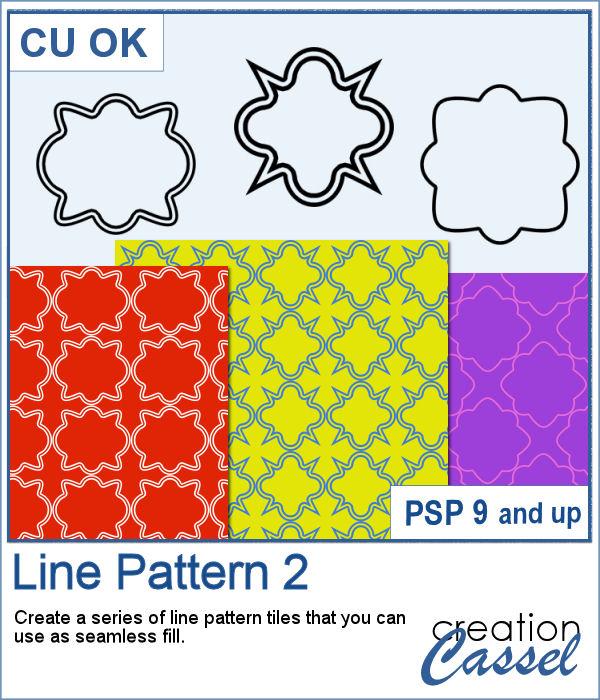 Line Pattern script for PaintShop Pro