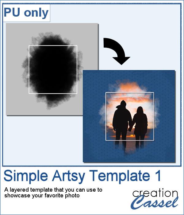 Artsy Frame for PaintShop Pro