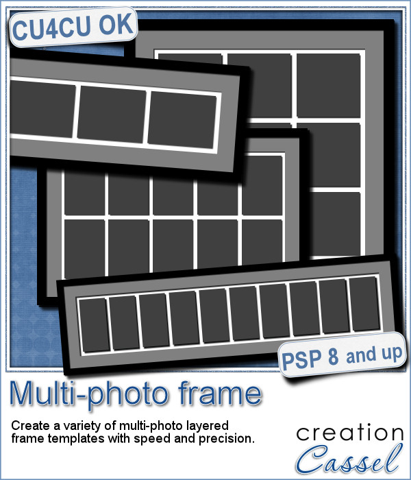 multi photo frames psp script multi photo frame psp script 599 creation cassel digital scrapbooking with paintshop pro