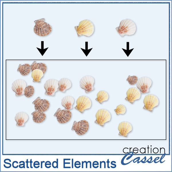 Scattered Elements - PSP Script - Click Image to Close